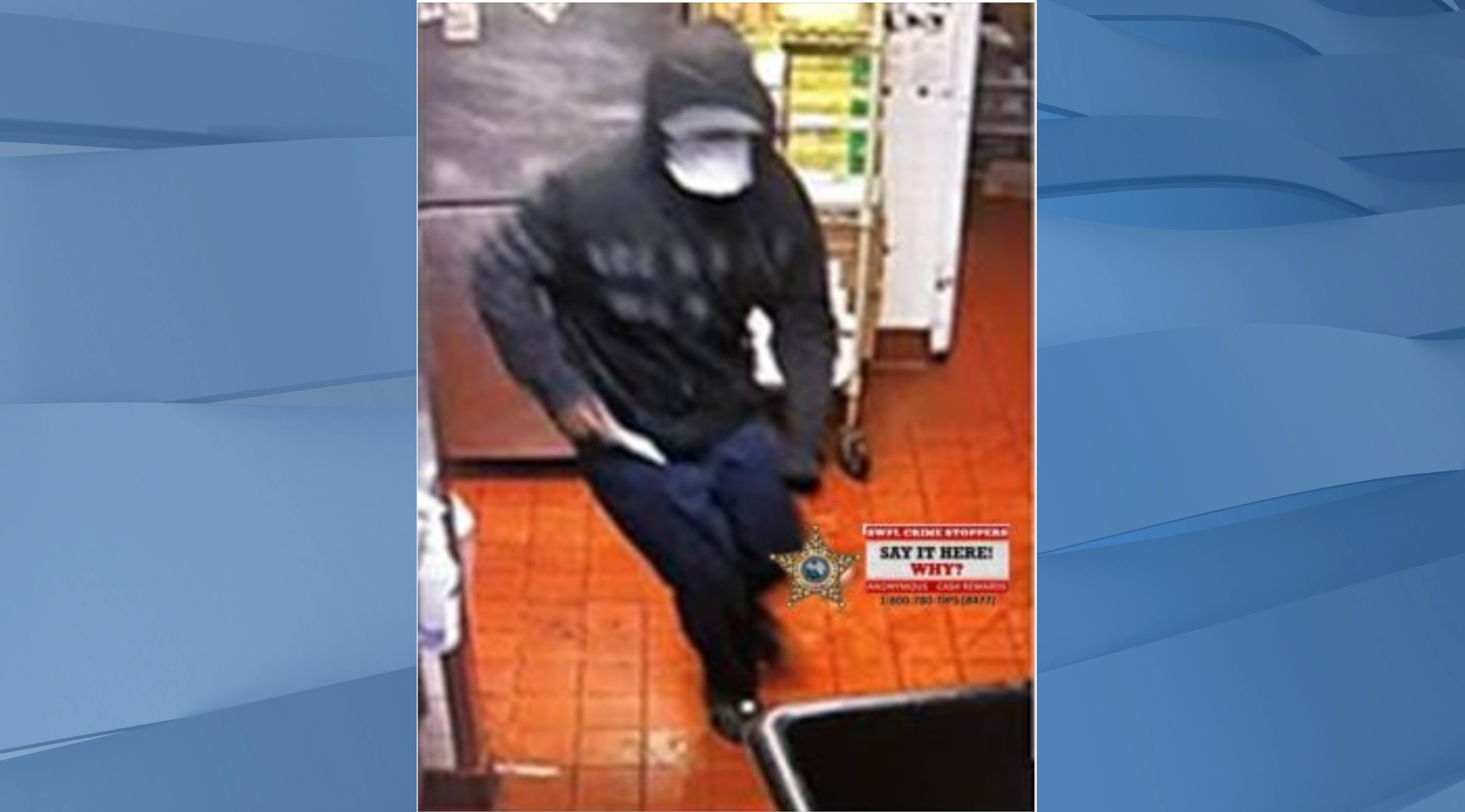 Suspect wanted in attempted robbery of North Fort Myers Taco Bell