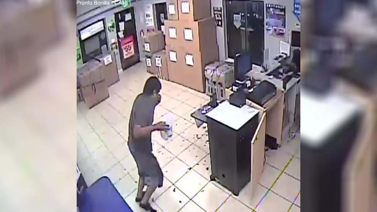 MPs are investigating the break-in at Bonita Springs' store