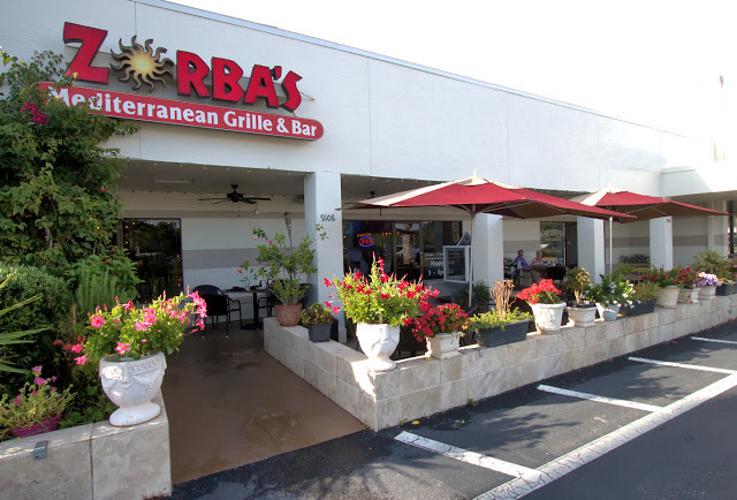 Zorbas in Bonita Springs. A Greek culinary star based in SW Florida