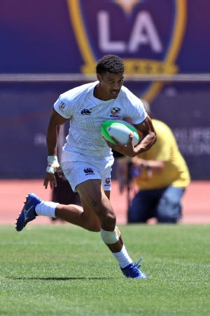 Malacchi Esdale, who played soccer at Naples High School, competes in the Tokyo Olympics with the US rugby sevens team. Esdale visited Naples from 2009 to 2011 before returning to his home state of Delaware. He played for the Houston SaberCats in Major League Rugby for three years (2018-20) before joining Team USA.