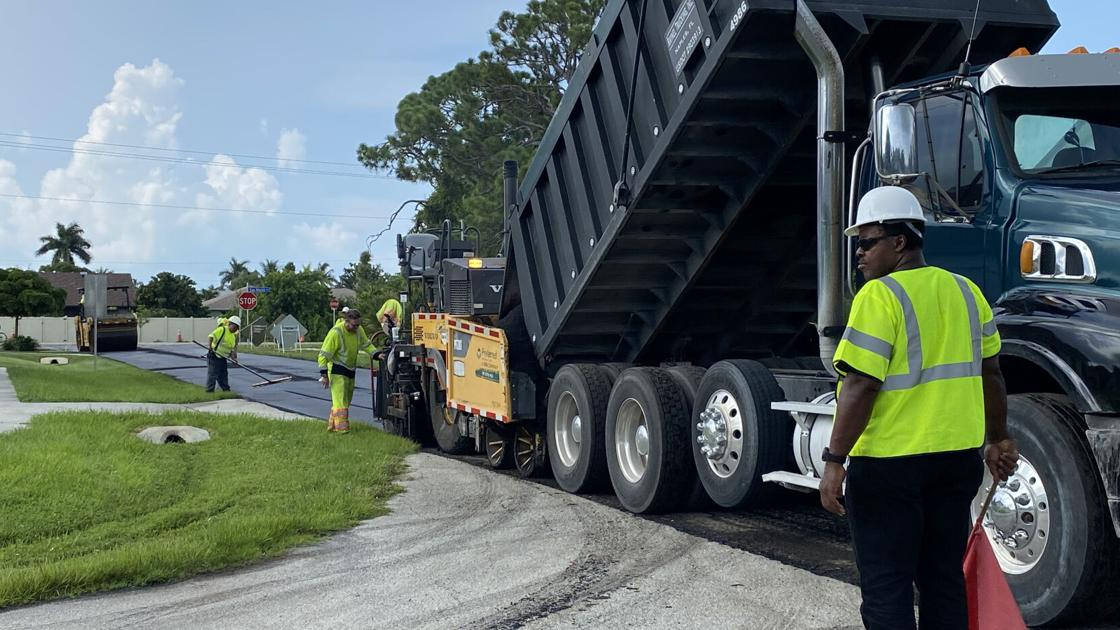 Marco Island's annual road renewal project | news