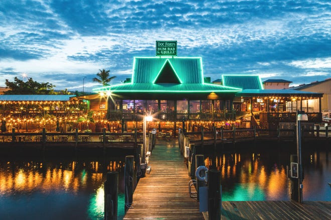 Doc Ford's Rum Bar & Grille opened in Fort Myers Beach in April 2009. The original Doc Ford's debuted on Sanibel in 2003.
