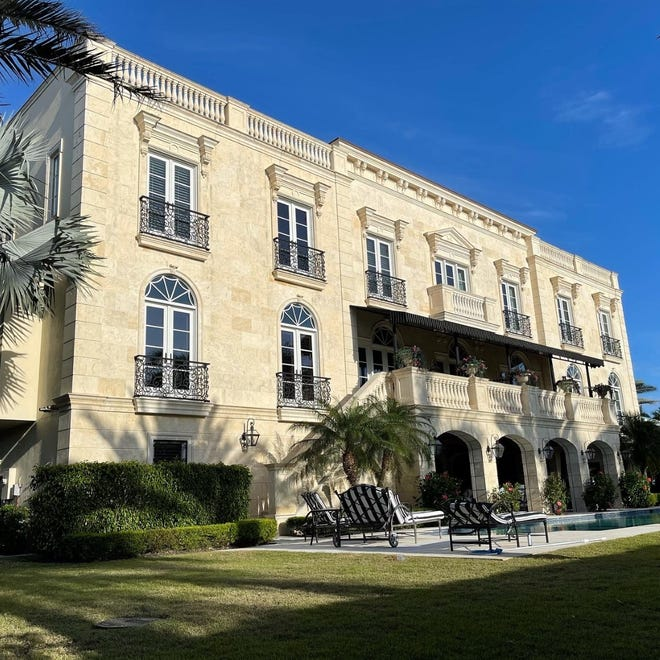 That house on 111 Fifth Ave. S. in Naples was recently sold for $ 12 million. It's one of the most expensive sales in the neighborhood in the past two years.