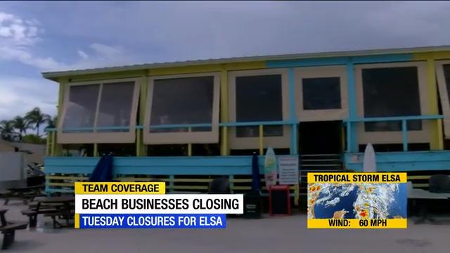 Some SWFL beach shops close before Tropical Storm Elsa