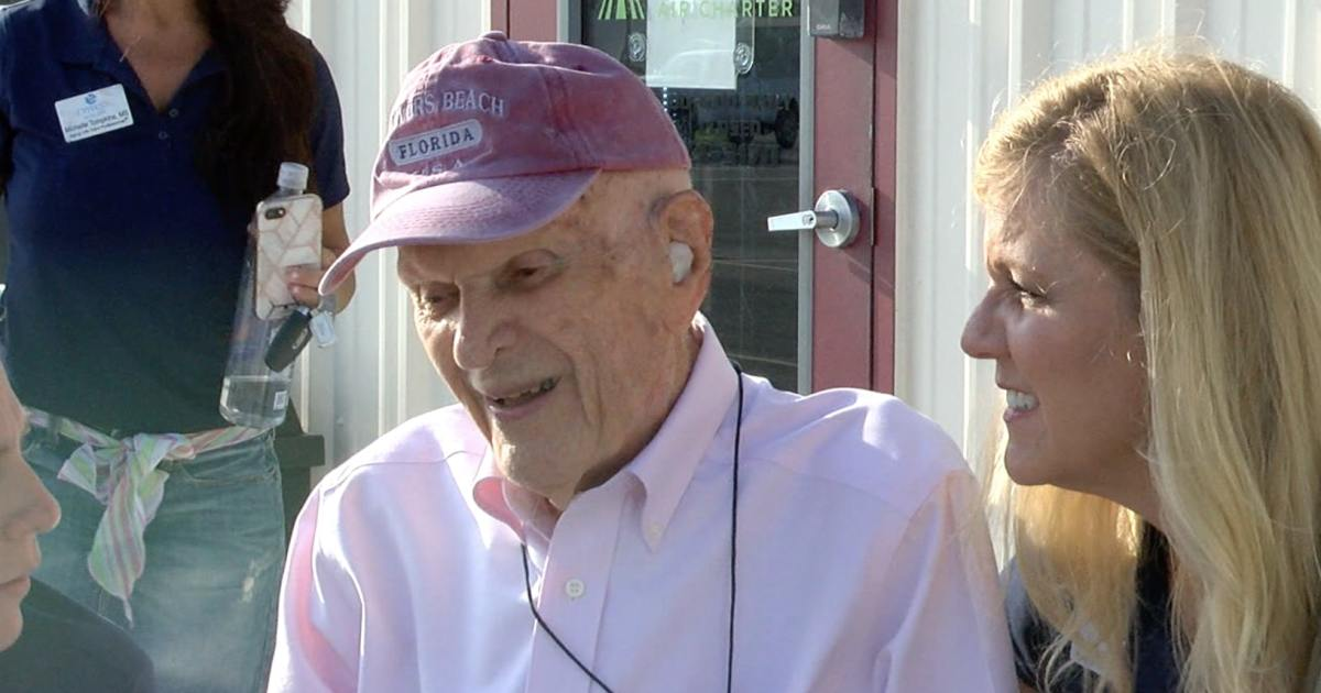 A man from Fort Myers is 102 years old