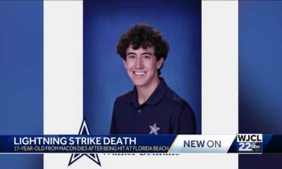 Macon teenager, struck by lightning on Marco Island, dies after hospital treatment