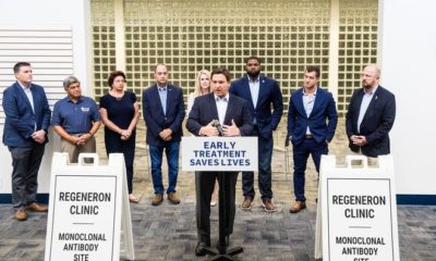 Florida Gov. Ron DeSantis held a press conference Friday, August 20, 2021 announcing a monoclonal antibody site at the old Bonita Springs Library. It is used to treat patients with COVID-19