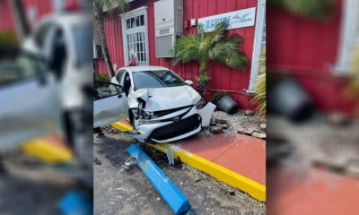 Driver crashes into Tin City in Naples