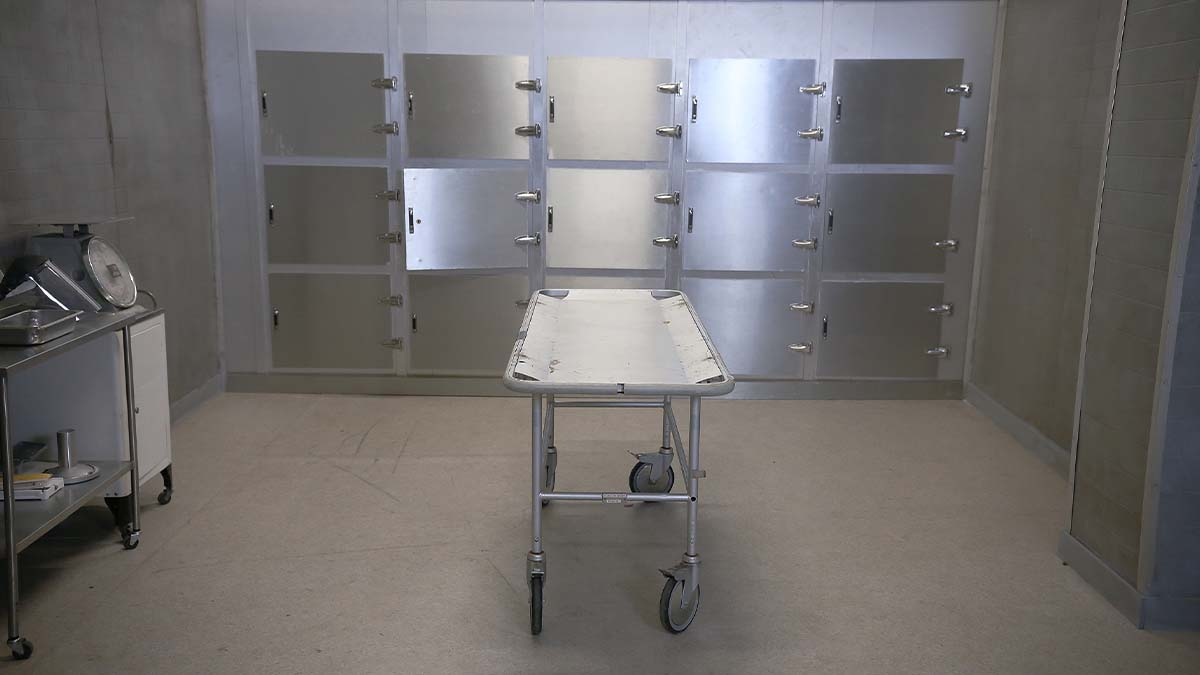 External morgue in use at Cape Coral Hospital to make room for more bodies