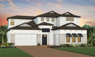 One of five stunning new luxury home designs, the Sanibel is the largest home available at Ardena, boasting more than 4,300 square feet of living space, up to six bedrooms, and up to six-and-a-half baths.