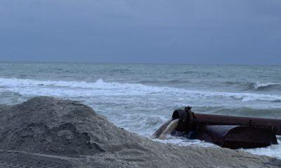 Sand placement signals beach renourishment's start | News, Sports, Jobs - SANIBEL-CAPTIVA