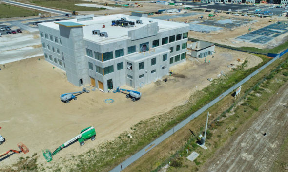 Rendering of new North American HQs for Scotlynn USA Division