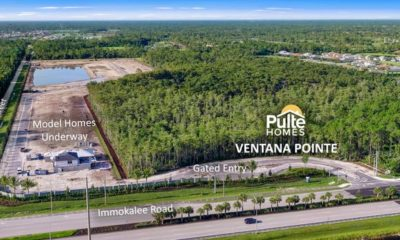 Ventana Pointe offers new construction homes in North Naples with a premier centralized location near top-rated school, shopping, dining and outdoor recreation. Sales are now underway.