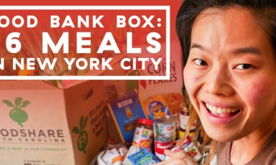 Budget Eats Cooking Challenge — Food Bank Pantry Box Ingredients