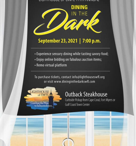 Lighthouse of SWFL to hold Dining in the Dark fundraiser Sept. 23 | News, Sports, Jobs