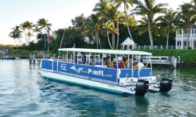 The Nov. 13 VIP Tour to Naples Botanical Gardens includes an Eco Boat Tour of Dollar Bay. COURTESY PHOTO