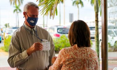 Jim Rodenfels and his wife Teddy recently wore their vaccination cards to a show at the Florida Repertory Theater. The Fort Myers theater has a strict new COVID policy: both masks and either a negative COVID test or proof of vaccination are required.