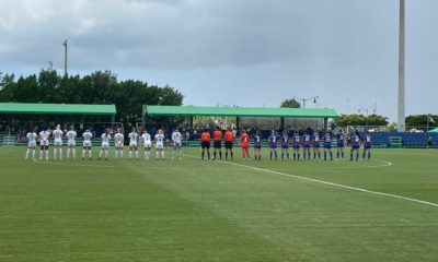 The University of Florida women's soccer team defeated the FGCU 1-0 on Sunday, September 5, 2021 at Pickering Field in the FGCU Soccer Complex. It was the first time the Gators played at the FGCU, and Florida hit its record 7 -0 against the eagles.